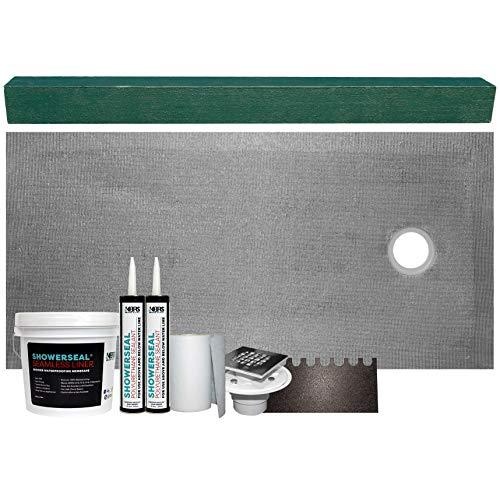 (Tile Shower Base Kit Cut-to-Fit 36