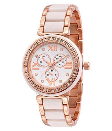 Renaissance Traders Analogue Diamond White Dial Women's Watch (B07FSHGKS1) Amazon Price History, Amazon Price Tracker
