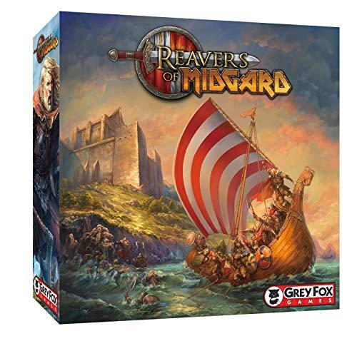 Jogo de Tabuleiro Conquistadores de Midgard
