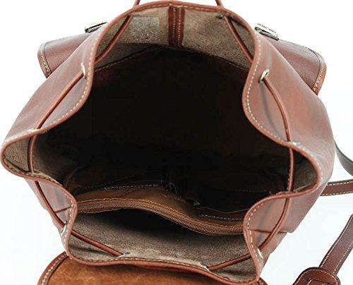 ce9d05bd01f Katana Bolso mochila de Piel para mujer Marrón chocolate -aquapoolz.es