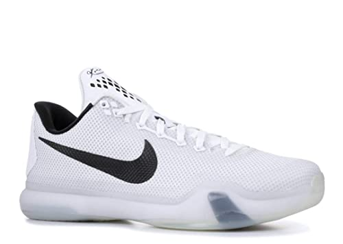 f10bc548d05a Amazon.com  Nike Kobe X (Fundamentals) White White-Black-Wolf Grey ...