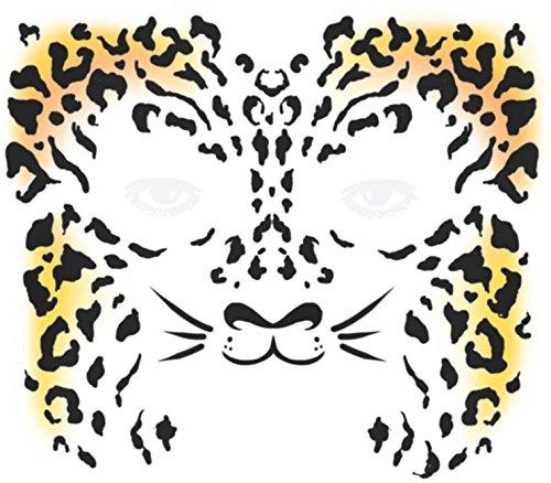 Tinsley Transfers  Cheetah, Flesh/Multi, One