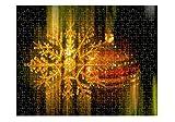 Christmas Decorations Jigsaw Puzzle Print 252 Pieces
