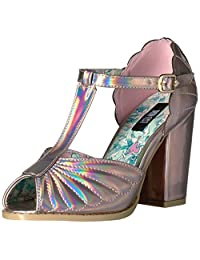 Iron Fist Women's Mother of Pearl Heel Dress Sandal