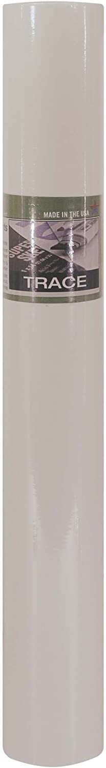 White Color Pro-Art 18-Inch by 50-Yards Tracing sketch paper Roll