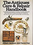 img - for The Antiques Care & Repair Handbook book / textbook / text book