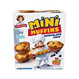 Little Debbie Blueberry Mini Muffins, 20 Mini Muffins in 5 Pouches