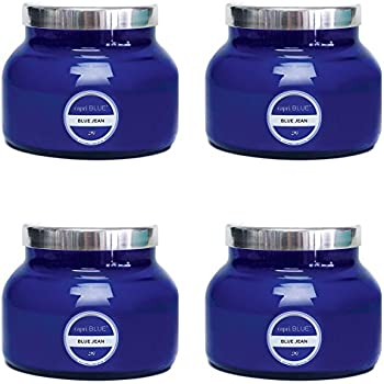 19 oz Capri Blue Signature Jar Blue Jean (4 pack) (blue)