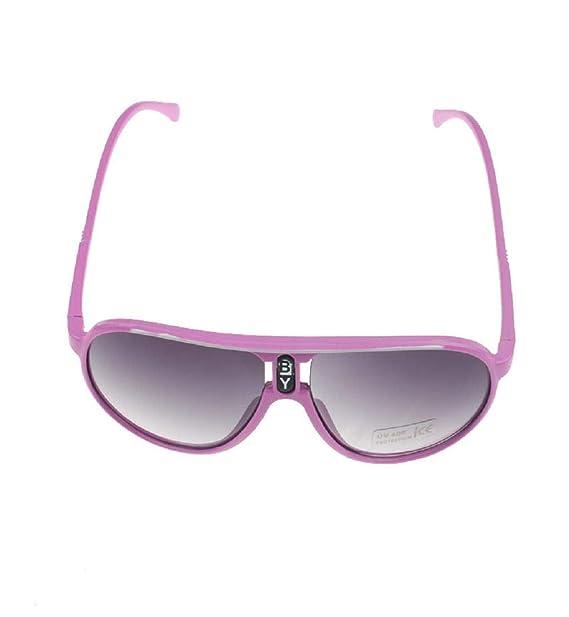 Amazon.com: DEESEE(TM) - Gafas de sol con marco de plástico ...
