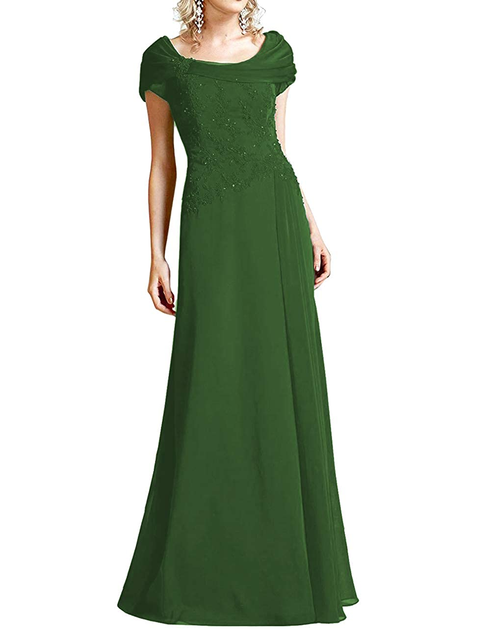 Dark Green H.S.D Mother of The Bride Dresses Lace Formal Gowns Long Evening Dress Prom Wrap Shawl