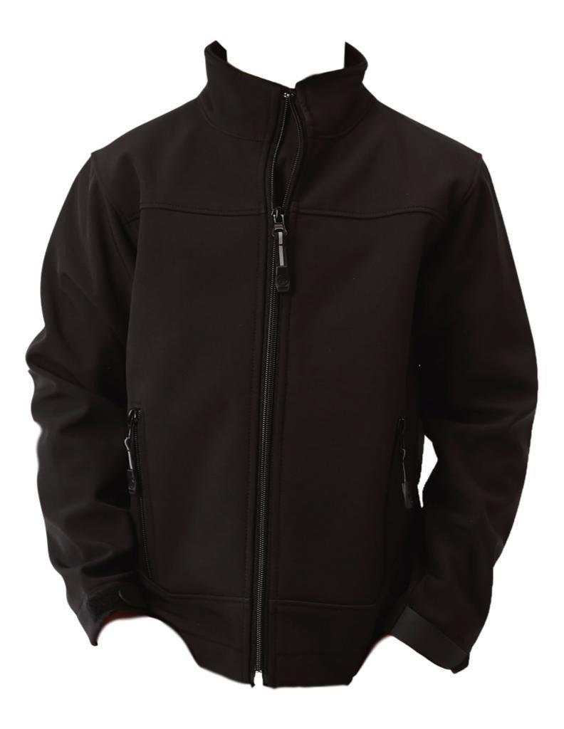 Roper Western Jacket Boys Zip Wind Resist XS Black 03-397-0780-0758 BL