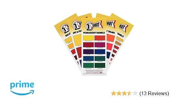 Amazon 1 Shot Color Chart Set Camera Photo