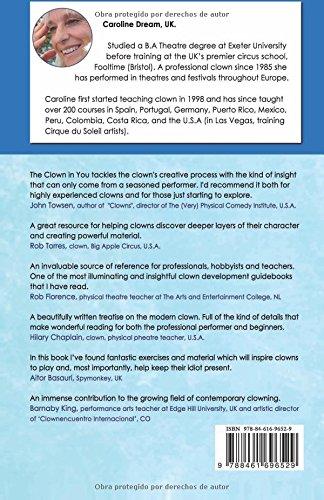the clown in you caroline dream 9788461696529 amazon com books