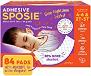 Sposie, Stops Nighttime Diaper leaks, Extra Overnight Protection for Heavy Wetters and Potty Training, Fits Di