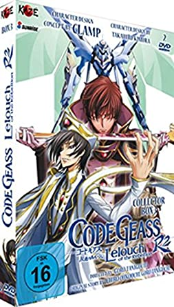 Amazon com: Code Geass R2 - Collector's Box 3 [LE] [2 DVDs