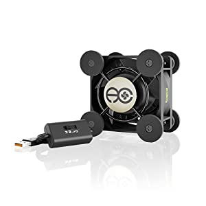 AC Infinity MULTIFAN Mini, Compact 40mm x 20mm USB Fan for VR Gear, Aquarium, Roku, Router, Raspberry Pi, Cosplay, Helmet Cooling Ventilation