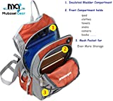 Mubasel Gear Insulated Hydration Backpack Pack 2L BPA Free Bladder - Keeps Liquid Cool up to 4 Hours Running, Hiking, Cycling, Camping