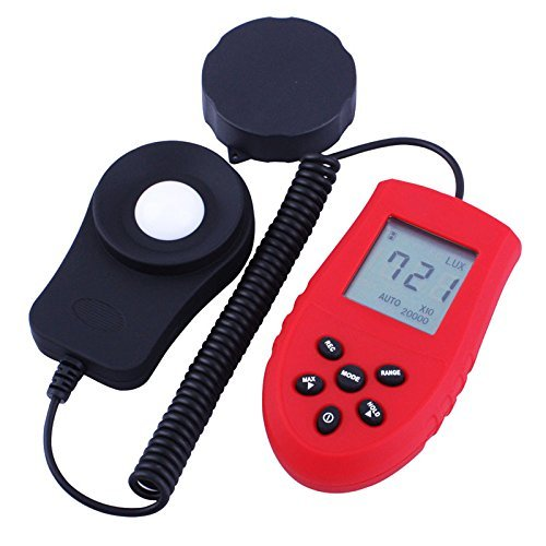 High Accurate 200000 Lux Digital Light Meter Tester Photometer Luxmeter by Thailand