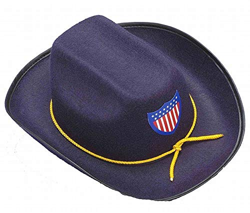 Civil War Union Officer Cowboy Hat Child