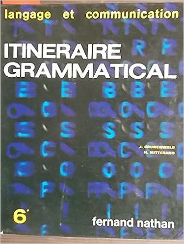 Livres Gratuits A Telecharger Ipad 2 Itineraire Grammatical