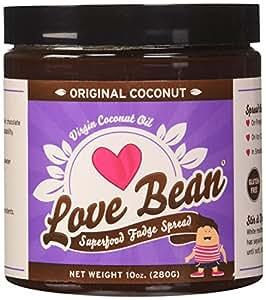 Love Bean Superfood Fudge Spread, Original Coconut, 2-Pack