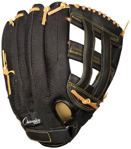 Champion Sports Physical Education Glove (Left-Handed, - Champion Baseball Leather