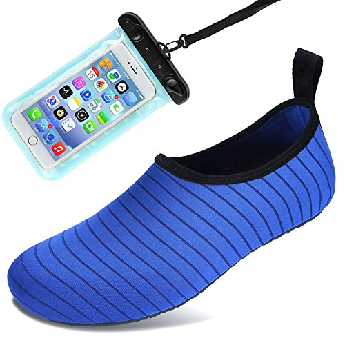 85160cb34b81 Auken Water Sports Shoes Barefoot Quick-Dry Aqua Socks Shoes for Beach Swim  Drifting Surf
