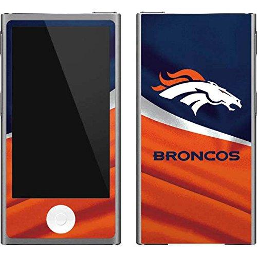 Skinit NFL Denver Broncos iPod Nano (7th Gen&2012) Skin - Denver Broncos Design - Ultra Thin, Lightweight Vinyl Decal Protection - Denver Broncos Nfl Nano