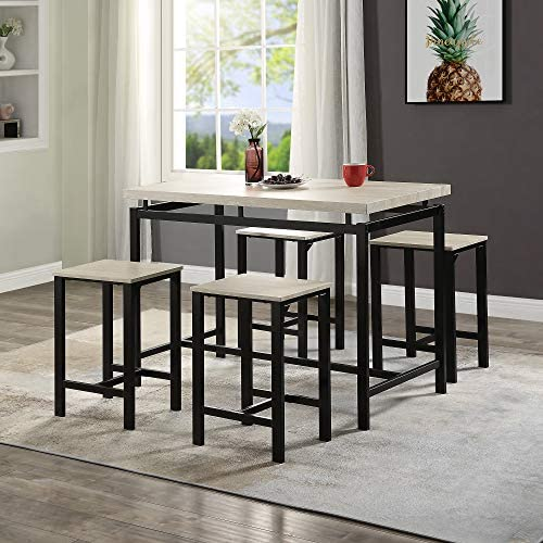 MIYACA 5 Pieces Dining Table Set