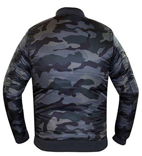 Imbottito Ma1 Marca Bomber Cappotto grey Camuffamento I Progettista Badge Del Di Bravo Uomini Succo Nuovi 8nqF47Uw