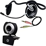 GE 1.3 MP MiniCam Pro WebCam with PC Stereo Headset