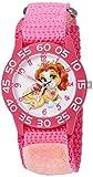 Disney Girl's 'Palace Pet' Quartz Plastic and Nylon Watch, Color:Pink (Model: W002824)