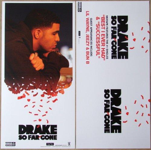 Drake - So Far Gone - Two Sided Poster - New - Aubrey Graham - Rare - Jimmy Brooks