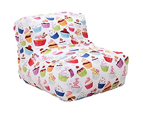 Cool Amazon Com Wow Works Cupcakes Beanbag Kitchen Dining Machost Co Dining Chair Design Ideas Machostcouk