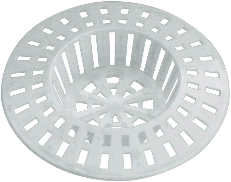 Home Xpert Color Blanco di/ámetro: 60 mm Juego de 2 coladores para Fregadero