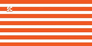 "product image for Sport N Care Beach/Pool Towel (Cabana Orange) 32"" x 60"""