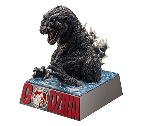 Price comparison product image Primary Godzilla 1 oz silver coin proof special Deluxe Figure Set