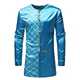 Corriee Fashion Tops for Men 2018 Autumn Luxury African Style Print Long Sleeve Sweatshirts Pullover Formal Party Shirts
