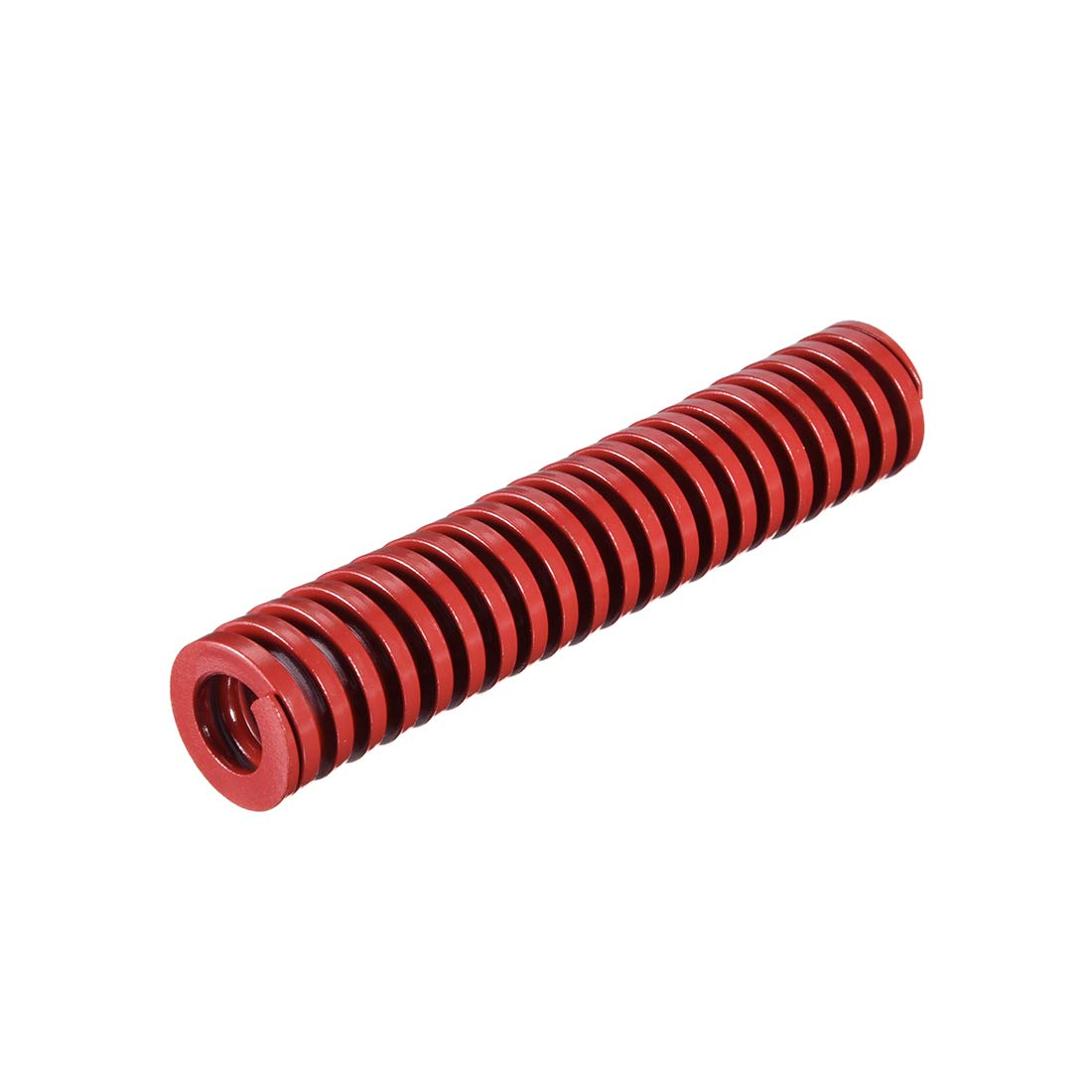 uxcell 30mm OD 60mm Long Spiral Stamping Middle Load Compression Mould Die Spring Red 1Pcs
