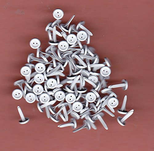 Recollection Button Brads - Mini Whites