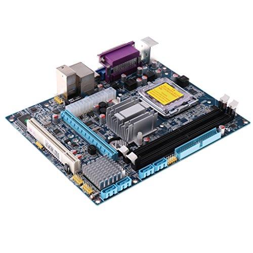 D DOLITY Desktop Motherboard DDR2 Slot 533 667 memory 965-775 Micro ATX Board &PCI-E 16X