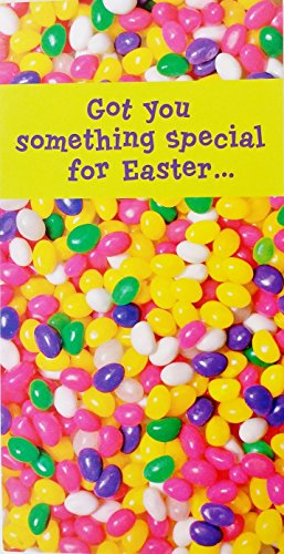 Got You Something Special for Easter - Money / Check Holder Greeting Card w/ Jellybeans ()