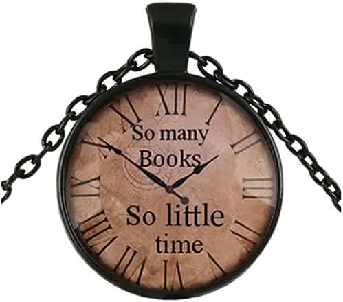 Elogoog Women Jewelry Vintage Clock Big Round Glass Creative Necklace Chain Antique Delicate Watch Pendant