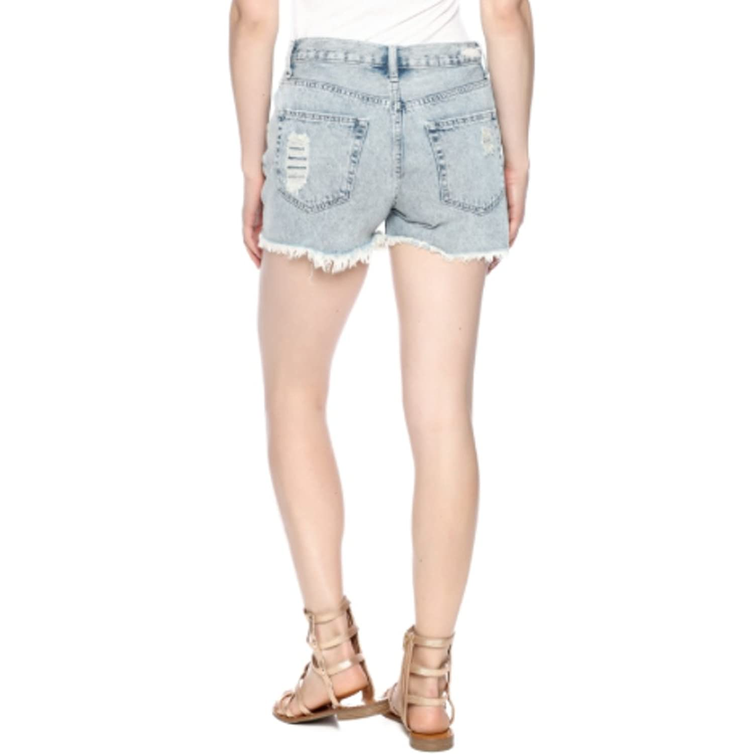 SNEAKPEEK BOYFRIEND SHORTS LIGHT WASH - JESSICA
