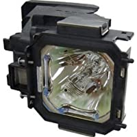Electrified POA-LMP116 / 610-335-8093 Replacement Lamp with Housing for Sanyo Models