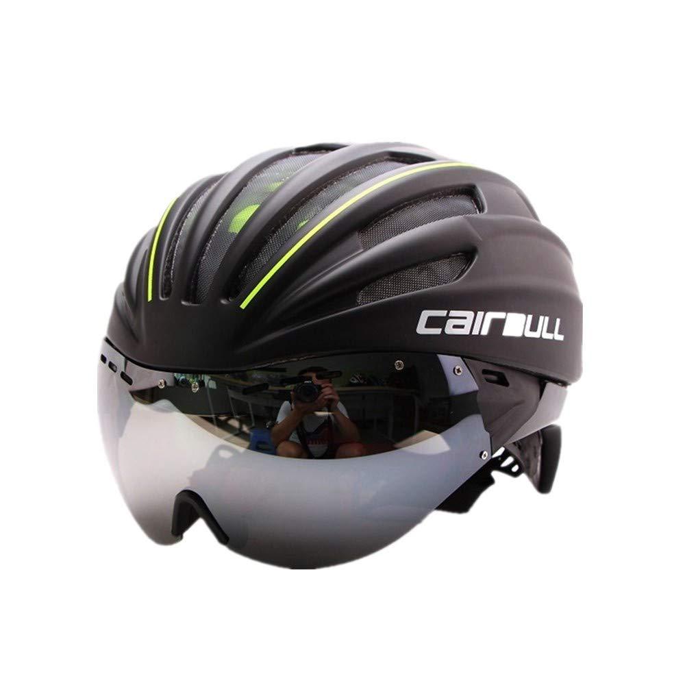 自転車用ヘルメット超軽量 アウトドアサイクリング愛好家に適した自転車ヘルメット自転車ヘルメット自転車安全ヘルメット。 オフロード自転車用保護帽   B07PFT9SLJ
