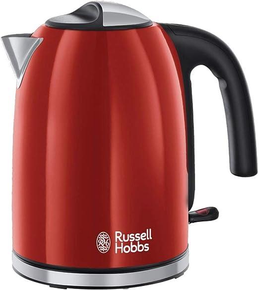 Russell Hobbs Colours Plus - Hervidor de Agua Eléctrico (2400 W, 1 ...