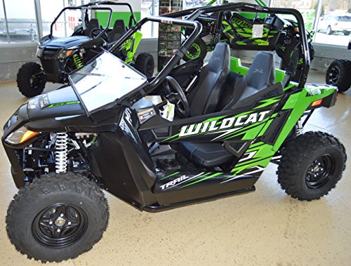 Arctic Cat Wildcat TRAIL / Sport - Full Folding Scratch Resistant UTV Windshield. The Ultimate in Side By Side Versatility!Premium Polycarbonate w/ Hard CoatMade in America!! by Clearly Tough (Image #5)