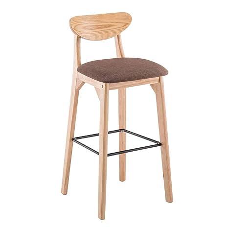 Remarkable Amazon Com Cylq Wooden Bar Stool Counter Height Bar Chair Beatyapartments Chair Design Images Beatyapartmentscom