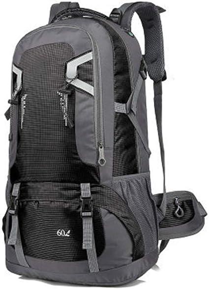 40L//60L Étanche Sac à Dos Pêche Randonnée Sport Backpack Voyage Rucksack Bag